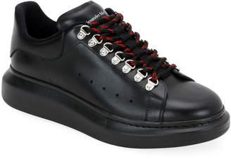 Alexander McQueen Men's Oversized Sneakers w/ Hiking Laces