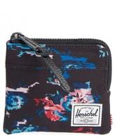 Herschel Men's 'Johnny' Half Zip Wallet - Black