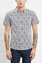 Forever 21 Geo Print Pocket Shirt