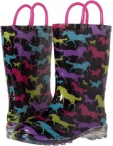 Western Chief Horse Dreams Lighted Rain Boot Girls Shoes