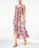 Style&Co. Style & Co Cutout High-Low Maxi Dress, Only at Macy's