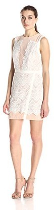 Greylin Women's Lana Two-Tone Lace Dress