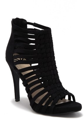 Fergalicious Tinker Woven Stiletto Heel Sandal