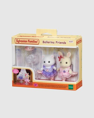 Sylvanian Families White Plush dolls - Ballerina Friends - Kids - Size One Size at The Iconic