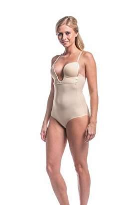 Magic Body Fashion MAGIC BODYFASHION Women's V-Body Bodysuit,8 (Size: 75D)