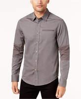 Sean John Men's Striped Pieced Shirt, Created for Macy's