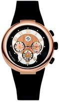 Philip Stein Teslar Men's 32-ARG-RBB Active Black Rubber Strap Watch