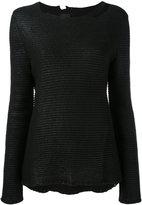 RtA distressed knit top