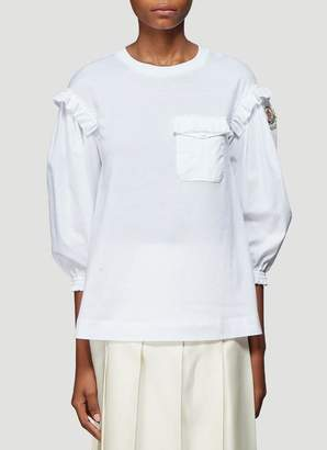 MONCLER GENIUS Moncler X Simone Rocha Billow Sleeve T-Shirt