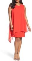 Tahari Plus Size Women's Sheath Dress