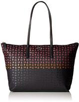 Lacoste Women's L.12.12 Concept Multi Croc Horizontal Tote Shoulder Bag