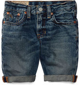 Ralph Lauren 2-7 Stretch Denim Short