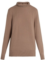Christopher Kane Crystal-embellished neckline sweater
