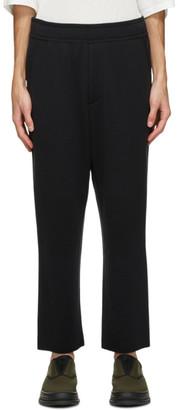 Issey Miyake Black Wool Milan Lounge Pants