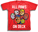 Freeze PAW Patrol Red 'All PAWs on Deck' Tee - Boys