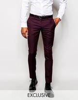 Selected Homme Exclusive Suit Trouser In Skinny Fit
