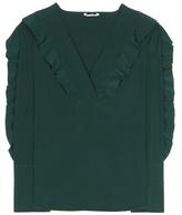 Fendi Ruffled silk shirt