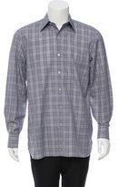 Tom Ford Glen Plaid Button-Up Shirt