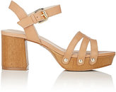 Barneys New York WOMEN'S MONICA LEATHER PLATFORM SANDALS