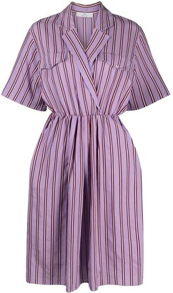 Paul Smith Striped Midi Dress