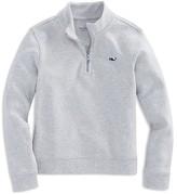 Vineyard Vines Boys' Jersey Quarter Zip Pullover - Sizes S-XL