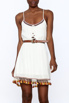 Band of Gypsies Flirty Tassel Dress