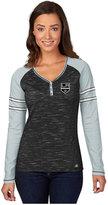 Majestic Women's Long-Sleeve Boston Bruins Pure Fury T-Shirt