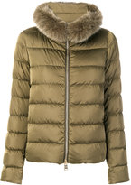 Herno zipped padded jacket