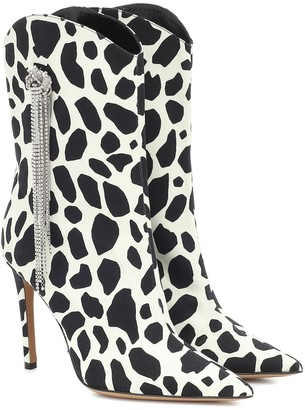 Alexandre Vauthier Exclusive to Mytheresa Wayne printed ankle boots