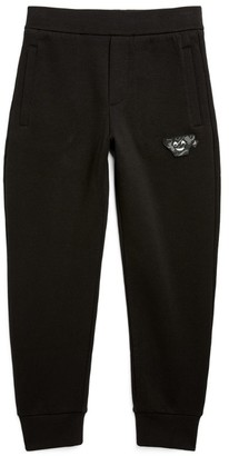 Emporio Armani Kids Manga Bear Patch Sweatpants (4-16 Years)