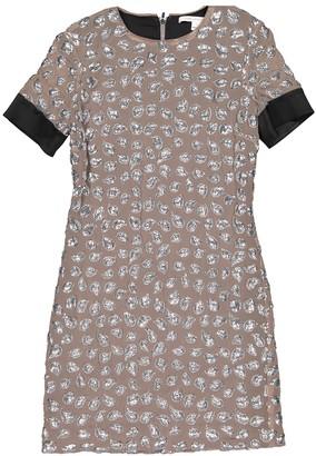 Diane von Furstenberg Beige Polyester Dresses