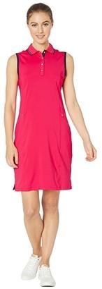 Callaway Sleeveless Golf Dress (Virtual Pink) Women's Dress