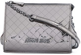 Armani Jeans metallic logo shoulder bag - women - Polyurethane - One Size