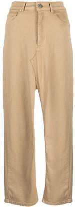 Dondup Gonna slit-detail skirt