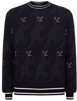 Paul Smith All Over Dinosaur Knit Sweater