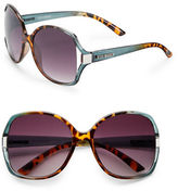 Steve Madden 57mm Round Sunglasses