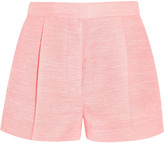 Stella McCartney Warwick slub canvas shorts