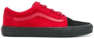 Vans contrast lace-up sneakers