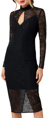 Forever New Kim Long Sleeve Lace Dress