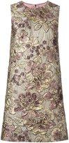 Dolce & Gabbana floral jacquard shift dress