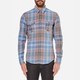 BOSS ORANGE Men's Edoslime Checked Shirt