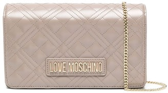 Love Moschino Logo Quilted Bag