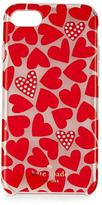 Kate Spade scattered hearts iPhone 7 case, multicolor