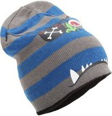 Universal Textiles Childrens Boys Knitted 4-In-1 Reversible Monster Design Beanie Hat