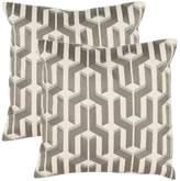 Safavieh Texola 2-piece Throw Pillow Set