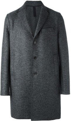 Harris Wharf London Single Breasted Mid Coat