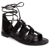 MICHAEL Michael Kors Women's Monterey Lace-Up Gladiator Sandal