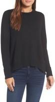 Halogen Women's Woven Back Sweater