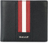 Bally striped detail bifold wallet - men - Calf Leather - One Size