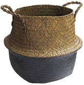 Jay Import Seagrass Basket - Medium - Natural/Ivory
